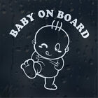 Baby on Board  Sticker Vinyl Decal Car Laptop Window Wall Bumper Decor Gift cheap