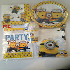 Minions Table Ware Sets - Despicable Me Decorations - Create Your Own Party Pack