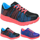 LADIES MEMORY FOAM ULTRA LIGHT WEIGHT FITNESS RUNNING WALKING TRAINERS SHOES