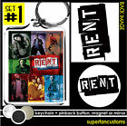 RENT the Musical KEYCHAIN + BUTTON or MAGNET or MIRROR pin badge broadway #1620