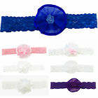 Blueskykidsland Flower Satin Carnation 2-Way Brooch and Hair Clips many colours