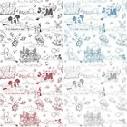 NEW OFFICIAL DISNEY MICKEY MOUSE PATTERN PENCIL CARTOON CHILDRENS WALLPAPER ROLL