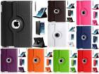 Leather 360 Degree Rotating Smart Stand Case Cover For New iPad Air 2 iPad 6