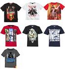 New boys licensed Disney Star Wars t-shirts top short sleeve cotton 6-12 years