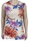 New With Tags Max Floral Print Sleeveless Summer Top Plus Size 18 20 & 22