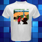 BRIAN ENO Another Green World Music Legend White T-Shirt Size S M L XL 2XL 3XL image