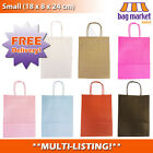 Coloured Paper Kraft Gift Bags! | Loot/Party/Wedding/Birthday | Twisted Handle