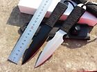 Stainless Army Knife Diving Knive Outdoor Survival Rescue Knife With Leg Strap