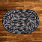 Colonial Mills Boston Common Wool Blend Country Braided Rug Winter Blues BC52