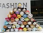 New Arrival Disney TSUM TSUM Mini Plush Toys Dolls Screen Cleaner With Chain
