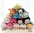 Lots Of Disney TSUM TSUM Mickey Minnie Alice Stitch Mini Plush Toys With Chain
