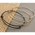 Charm Women's Simple Gold Silver Chain Bangle Bracelet Cuff Jewelry Gift Fashion