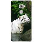 White Tigers Hard Case For Huawei Mate S