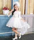 Fashion Formal Evening Party Trumpet Princess Baby Dress Cute Flower Girl Dress