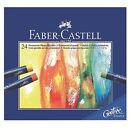 Faber-Castell Oil Pastel Studio Quality Box of 12,  24,  36 Drawing Professional