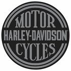 HARLEY-DAVIDSO​N®  H-D® Platinum Disc Round Tin Embossed Sign Motorcycle 011