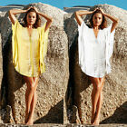 Women Summer Hollow Bathing Swimsuit Suit Bikini Cover Up Beach Swimwear Dress