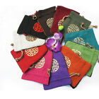 Wholesale12pcs Chinese HandMade Embroiderd Flax Jewelry Pouches/Purse Gift Bags