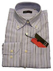 Camicia uomo Jo Sorrento tg. 40 15¾ Cotone Righe Classic Shirt Button-down 3c