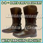 Medieval Leather Boots Role Play Re-enactment Costume Boot Mens Shoes z@#15