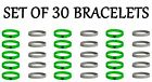 minecraft creeper party supplies - Lot of 30 Minecraft Silicone Bracelets Birthday Party Favors