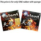 Bomb Talent Tension (Economical) Long Pips-Out Rubber