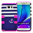 Shockproof Hybrid Rubber Protective Hard Cover Case For Samsung Galaxy Note 5 <br/> Now Available for: Note 3/4/5 &amp; S3/4/5/6/7 New Designs