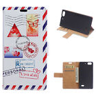 For Multi Mobile Wallet PU Leather Stand Flip Card Magnet Case Cover + 2 Gift