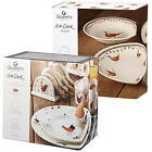 Churchill China Alex Clark Wildlife Rooster Earthenware Dinner Sets 12 Piece
