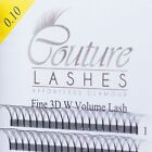 Couture W lashes MIXED TRAYS  - Volume Lashes - Pre made Fans - Russian volume