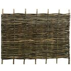 Hazel Hurdle Woven Wooden Fence Panel Garden Screening 6ft Wide Various Heights!
