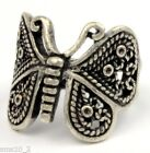 Dark Silver Colour Butterfly Ring R010