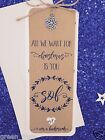 Winter Theme Wedding Invitations with Snowflakes Rustic / Shabby Chic