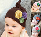 NewBorn Baby Girls& Boy Owl Hat Toddler Cotton Flower Headwear