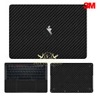 SopiGuard Carbon Fiber Skin for Macbook 12 Retina Air 11 13 Pro 15 Touch Bar