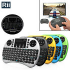 Rii i8+ with Backlight 2.4G Wireless Mini Keyboard  for Smart TV Android Box PC