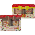 Jelly Belly Very Cherry/Bubblegum Marshmallow/Cinnamon Candle Jar Gift Set Wax