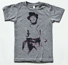 Billy The Kid T Shirt - William H Bonney Outlaw - American Apparel Tri-Blend Tee