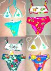 Hand Appliqued & Beaded Swimsuits Sizes P (2XS), M (USA X-Small), L (USA Small)