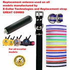 E Collar Replacement Strap and Antenna Bundle- Your Choice