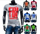 Summer Men's Fashion Short Sleeve T-Shirts New Slim Fit Comfort Tee Casual Tops