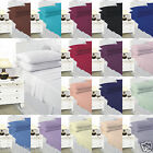 Plain Dyed PolyCotton Fitted Sheet  17 Colours Whole Sale Price All Uk Size