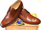Barker 'Wimborne' Shoes in Rosewood Calf - Free Polish Spare Laces & Shoe Horn