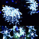 Mini Star LEDSolar Power 5M 30 Led Mix-Color White String Fairy Light Xmas Deco