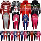 'Kids Girls Boys Novelty Christmas Santa Reindeer A2z Onesie One Piece Jumpsuit