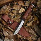 high quality straight knife fixed blade camping hunting survival knife tools