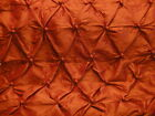 "Silk Taffeta With Buttons Rust 30 yards 45"" Wide Gorgeous Color"