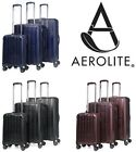 Aerolite PET Eco-Friendly Lightweight Spinner Hard Shell Suitcase Luggage Set