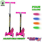 Kick Scooter With Adjustable Handle Height