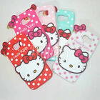 HelloKitty Silicone Soft Back Case Cover For Samsung Galaxy S6 & S6 Edge & S7
